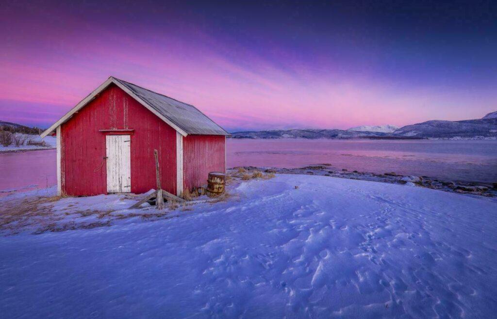 style norvégien dans les Lofoten