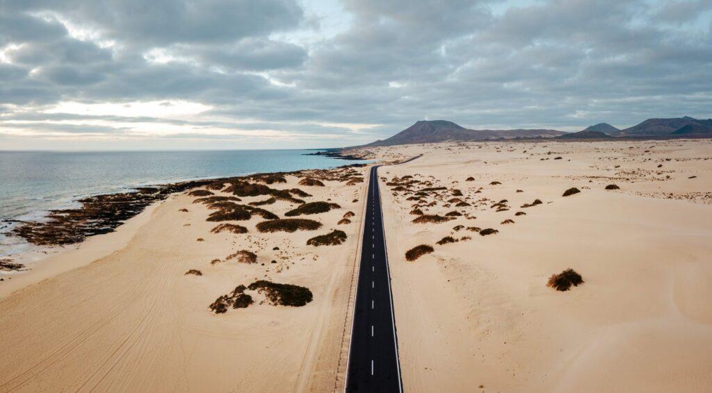 Le parc Corralejo à Fuerteventura