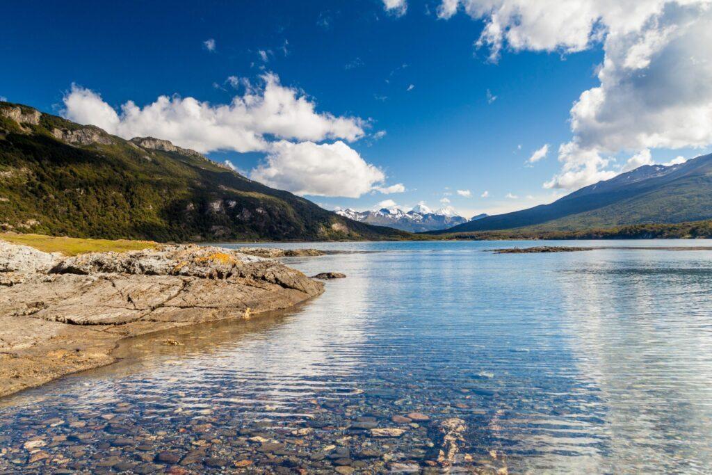 Parc national Terre de Feu en été