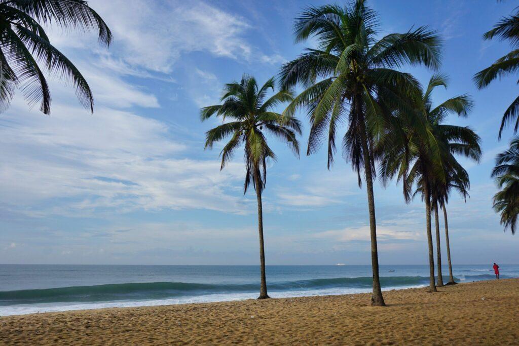plage à Baguida