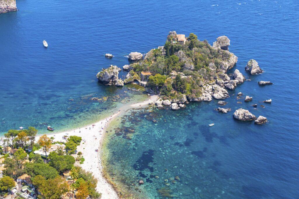 plage Isola Bella Sicile