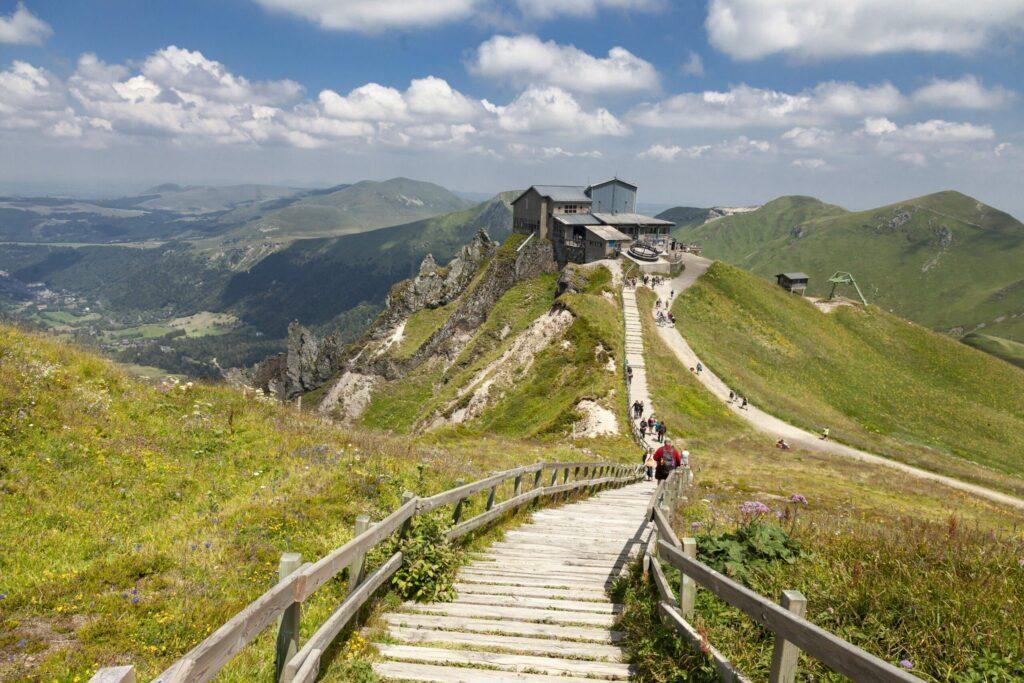 Puy de Sancy autour de Clermont-Ferrand