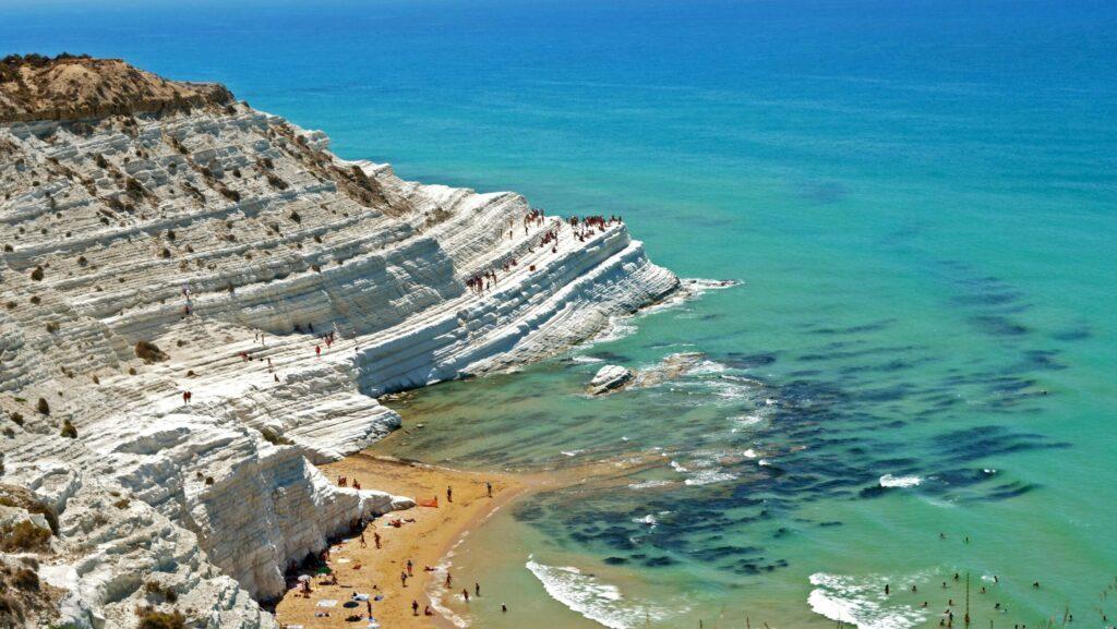 Scala dei Turchi plages de Sicile