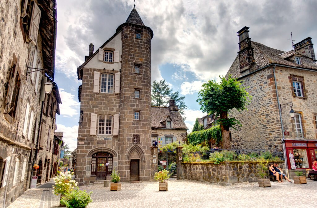 village de Salers