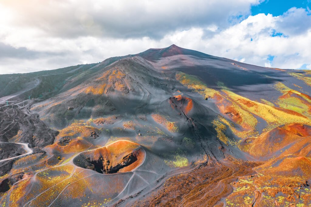 vue de l'Etna
