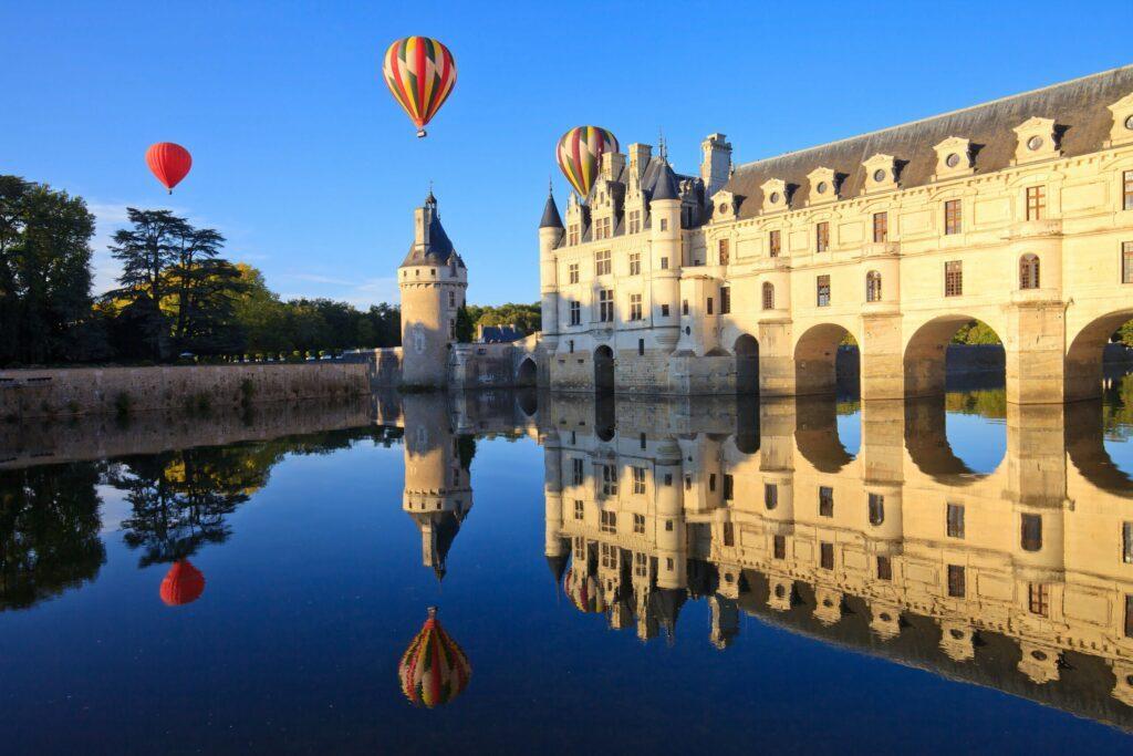 balade en montgolfière à Chenonceau