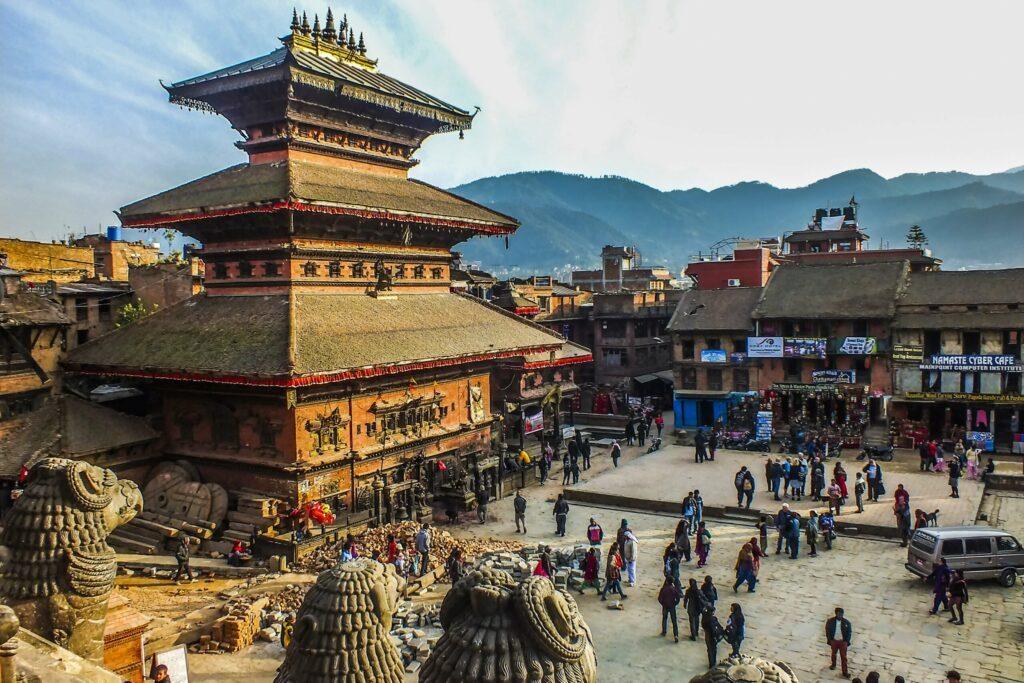 Katmandou au Népal