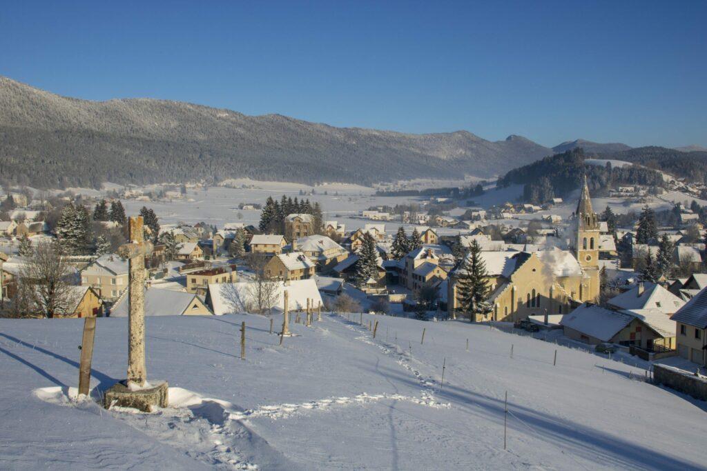Le village de Méaudre dans le Vercors