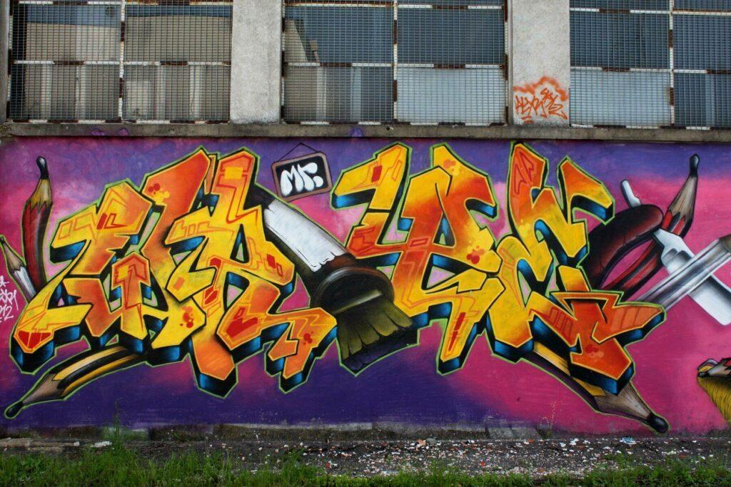 street-art à Saint-Pierre des Corps