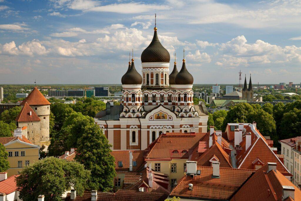 cathédrale à voir à Tallinn