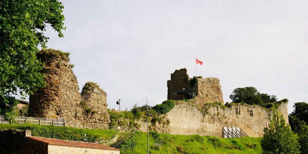 Château de Talmont en Vendée