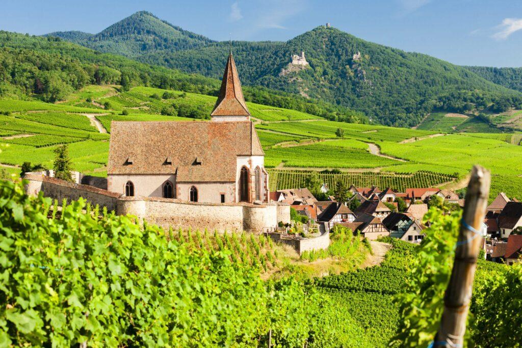 Hunawihr en Alsace