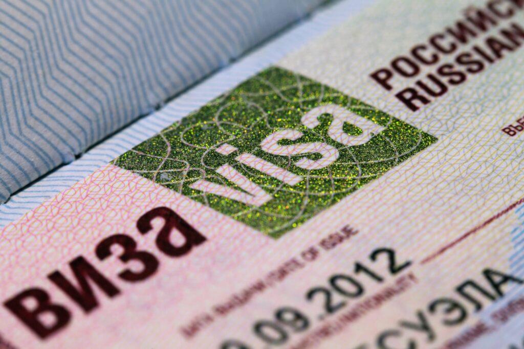 Le visa russe