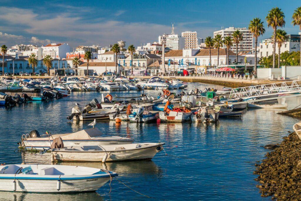 marina à faire à Faro