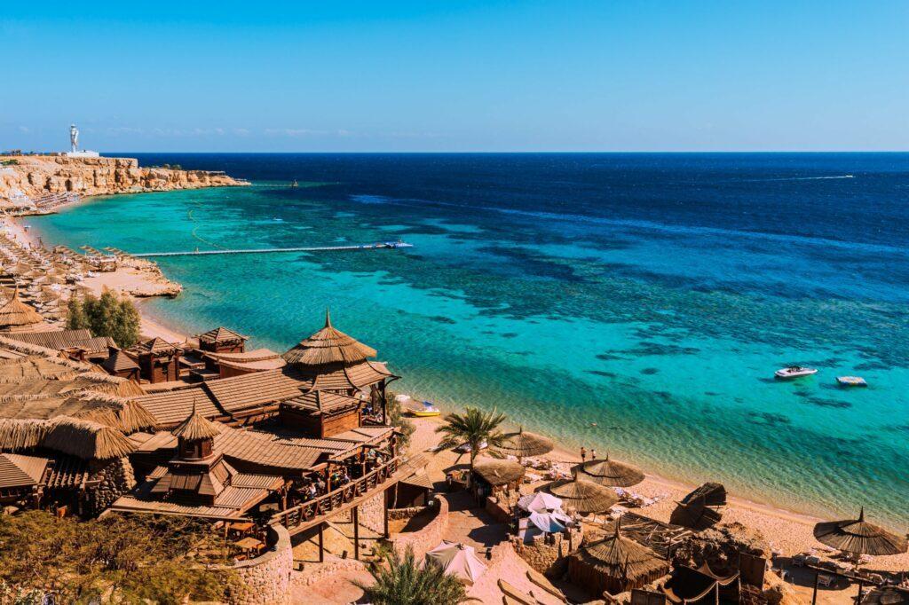 Profiter des plages de l'Égypte