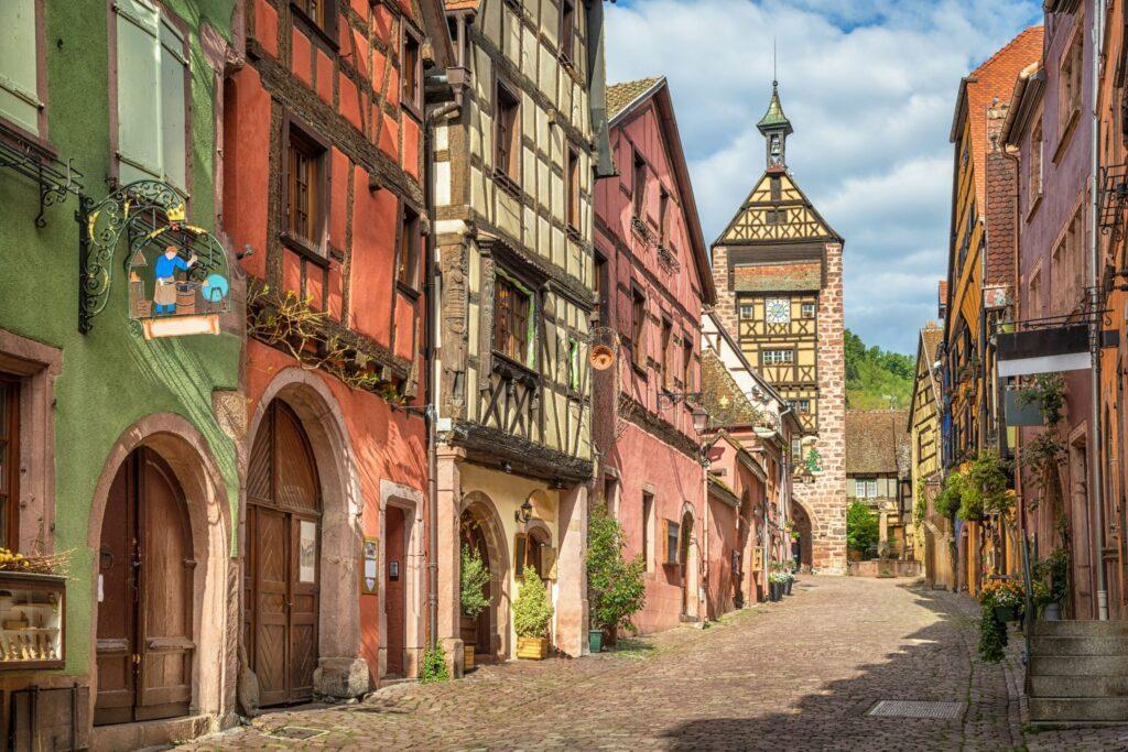 Riquewihr village d'Alsace