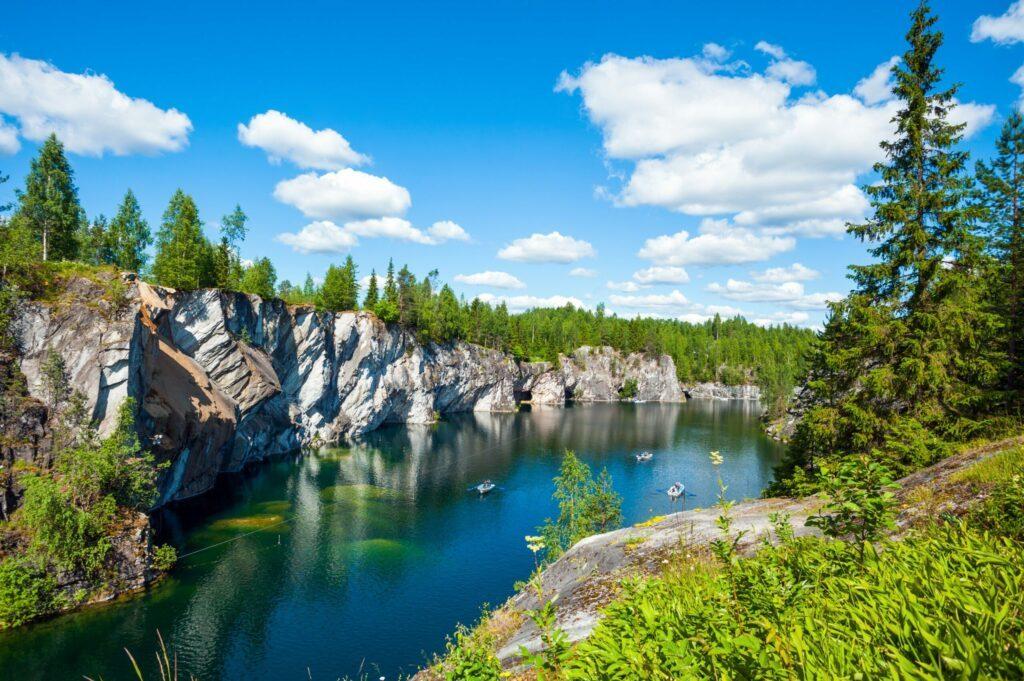 Se balader dans la nature en Russie