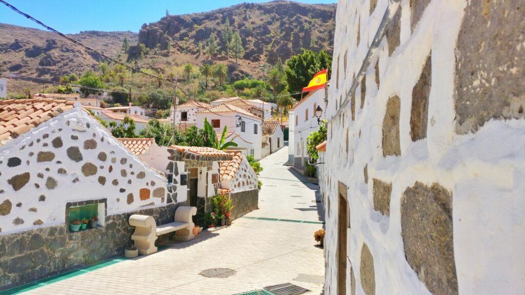 Fataga, un joli village de Grande Canarie