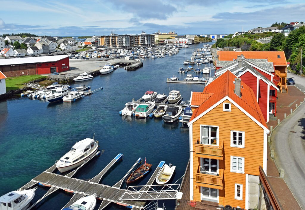 Haugesund en Norvège