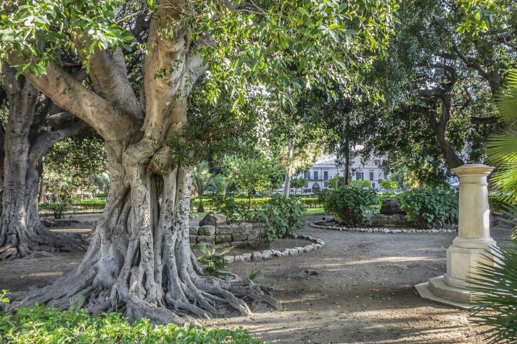 Jardin Garibaldi à Palerme