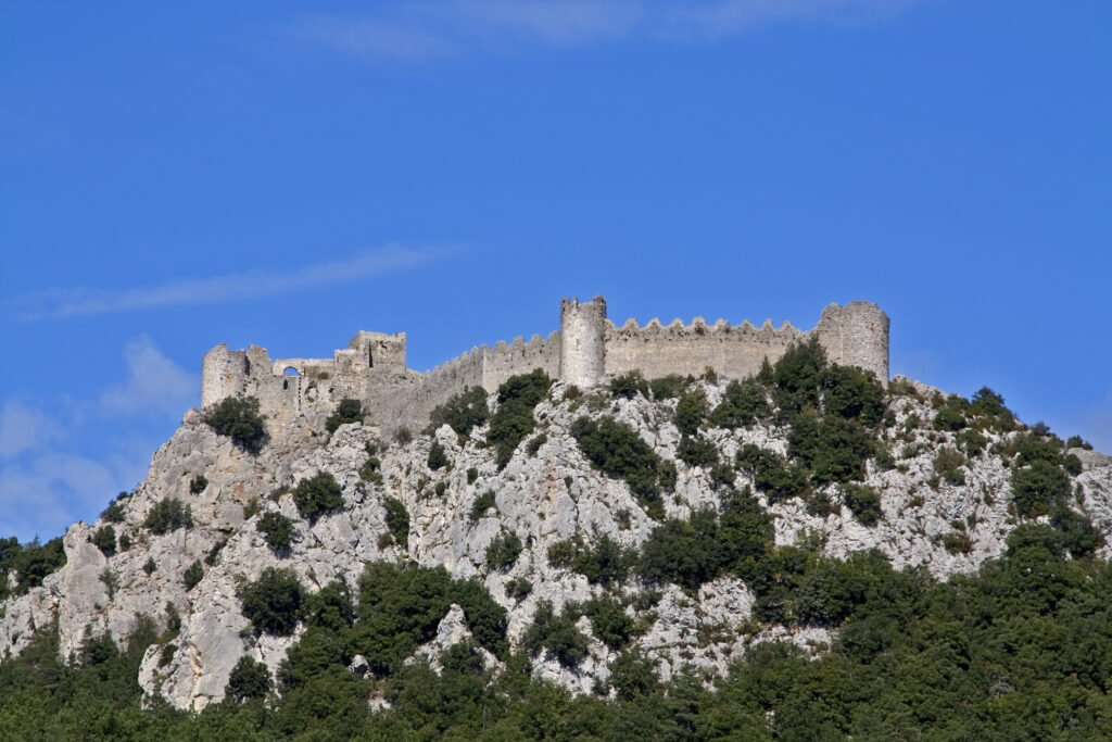 Le château Cathare Puilaurens