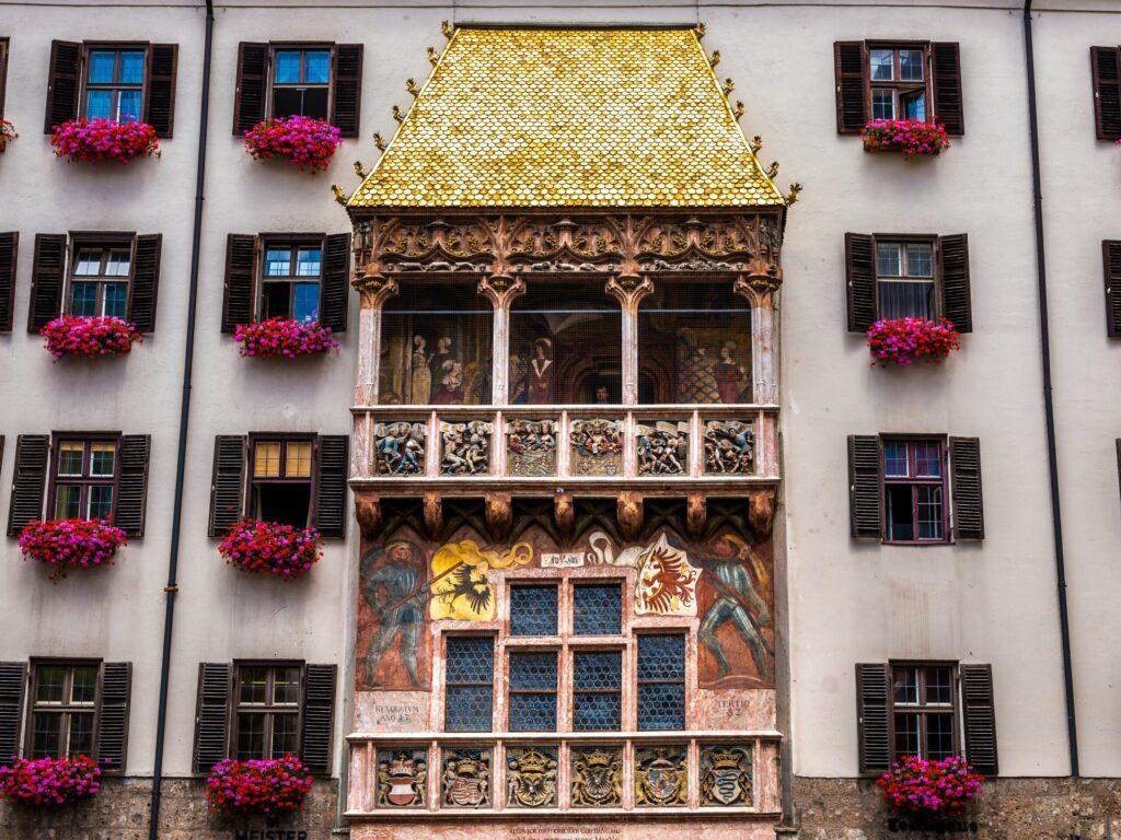 Le petit Toit d'Or à Innsbruck