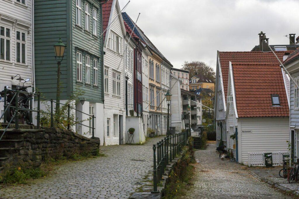 le quartier de Nordnes à faire en Norvège
