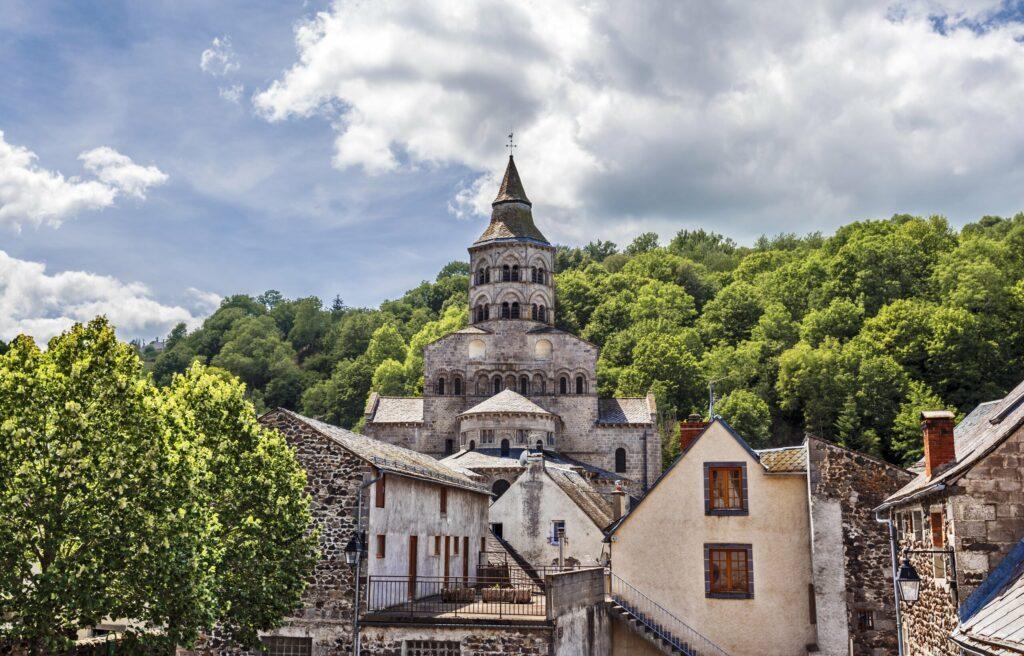 L'église d'Orcival en Auvergne