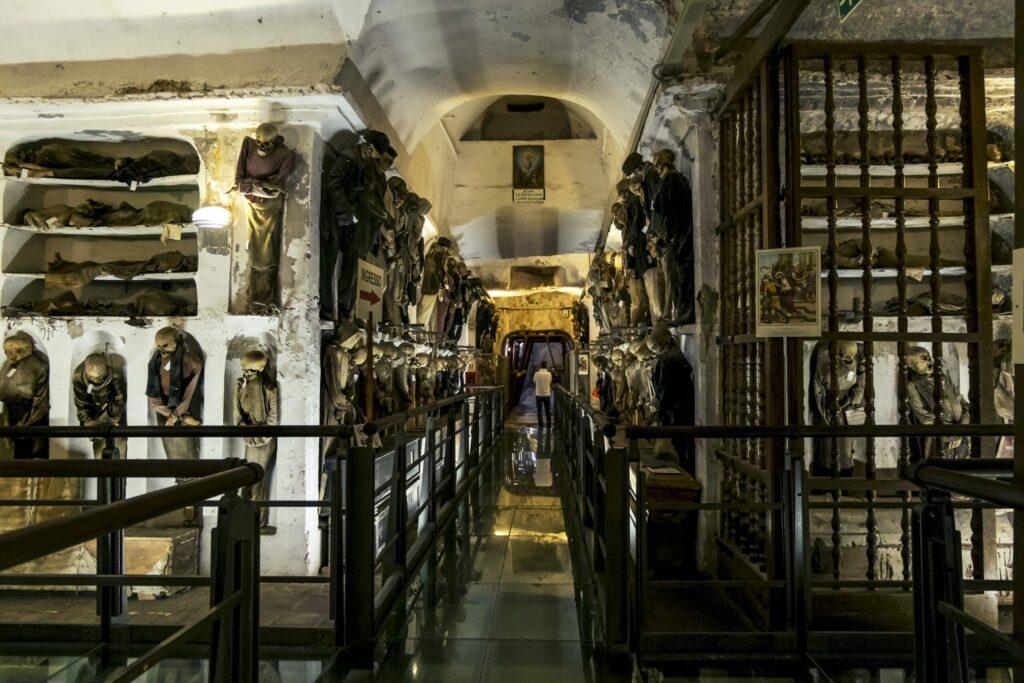 Les catacombes à faire à Palerme