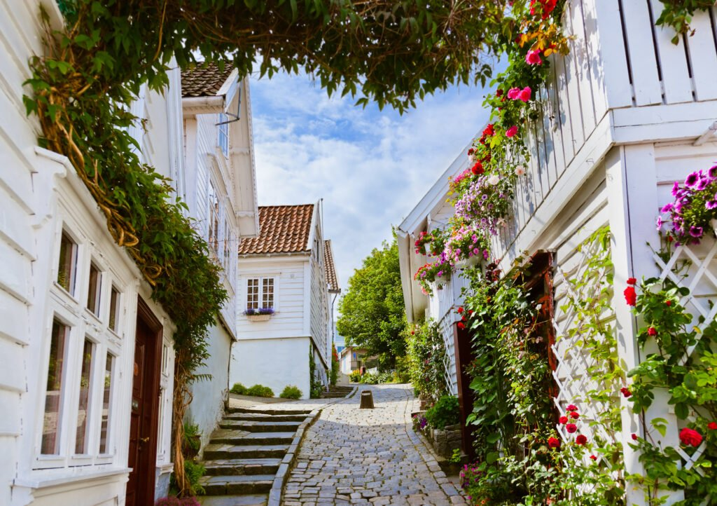 Les façades de Stavanger