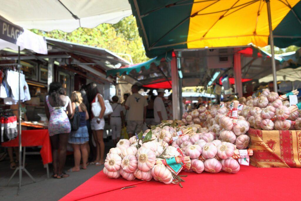 marché de Saint-Tropez