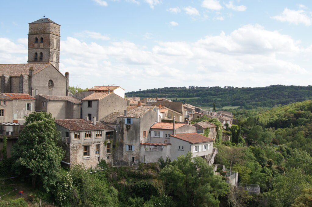 Montolieu autour de Carcassonne