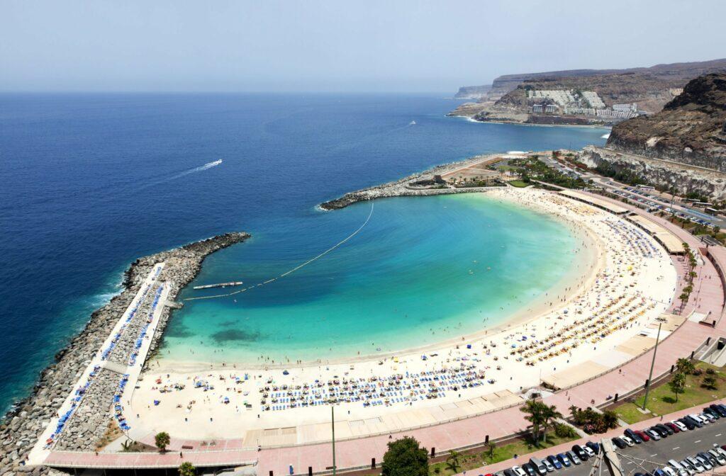 Playa de Amadores à Grande Canarie