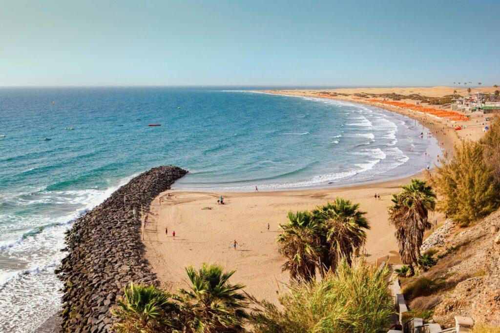 Playa del Ingles à faire à Grande Canarie
