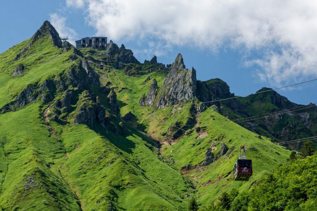Puy de Sancy en Auvergne
