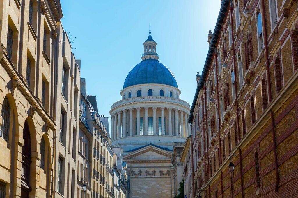 Quartier Latin et le Panthéon à Paris