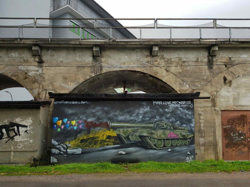 Street art à Innsbruck