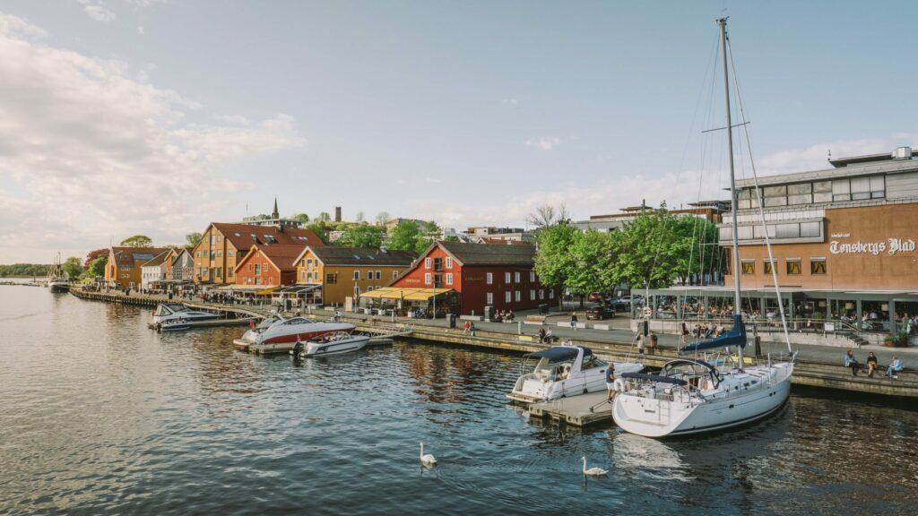 Tønsberg en Norvège