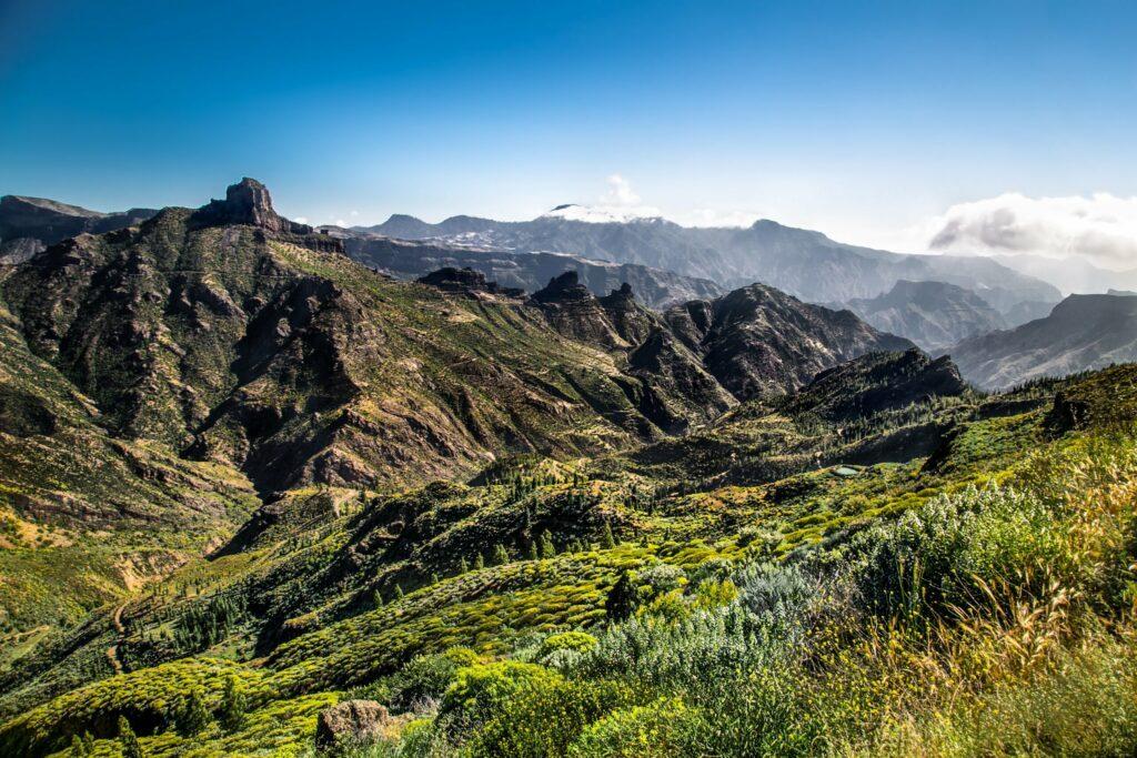 Vue panoramique depuis Pico de las Nieves