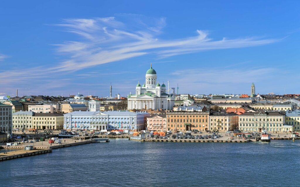 Helsinki en Finlande