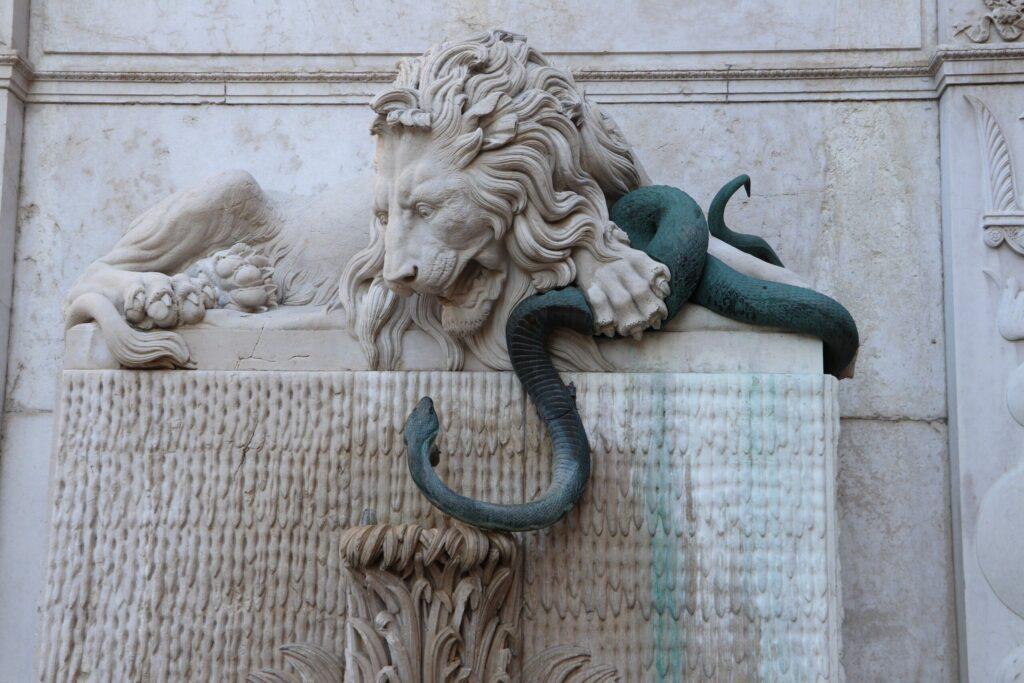 La Fontaine du Lion à Grenoble