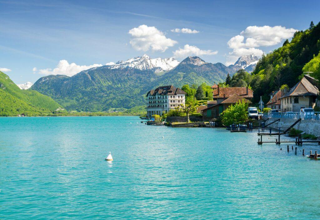 lac d'Annecy en France