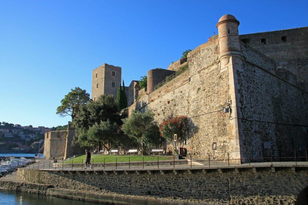 Le château Royal à faire à Collioure
