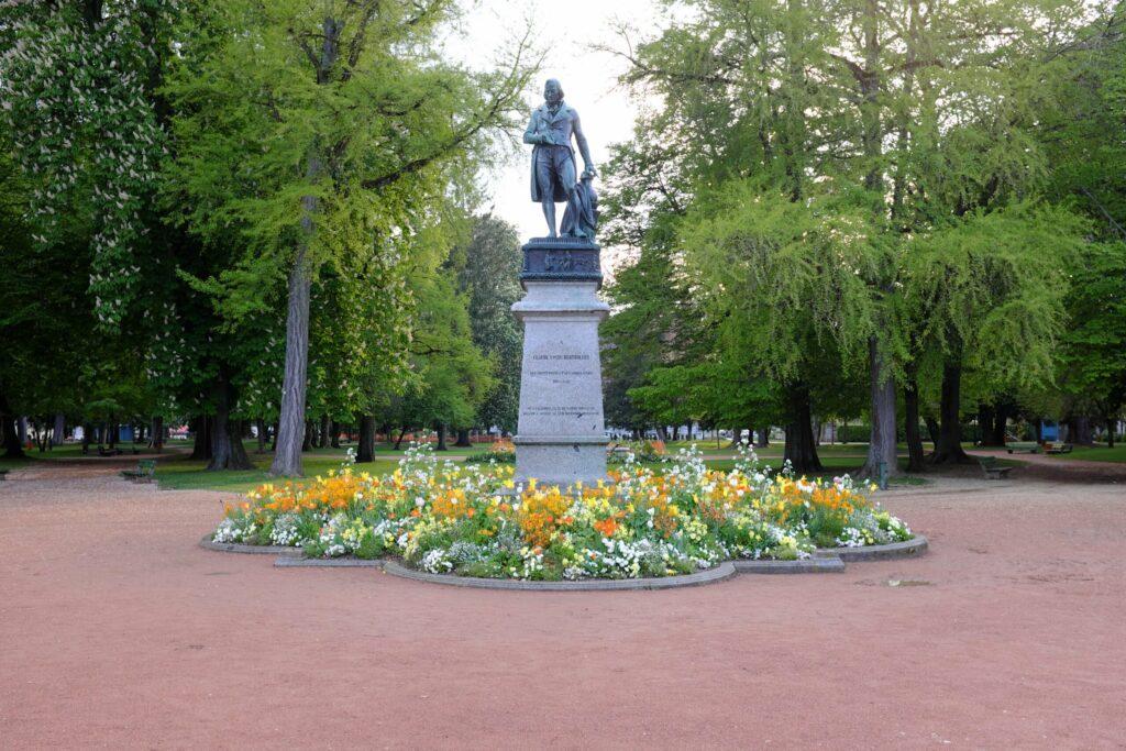 Le jardin de l'Europe à faire à Annecy
