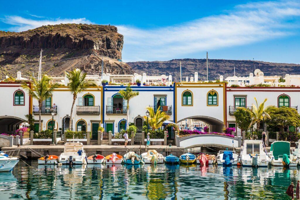 Le port de Mogan à Gran Canaria