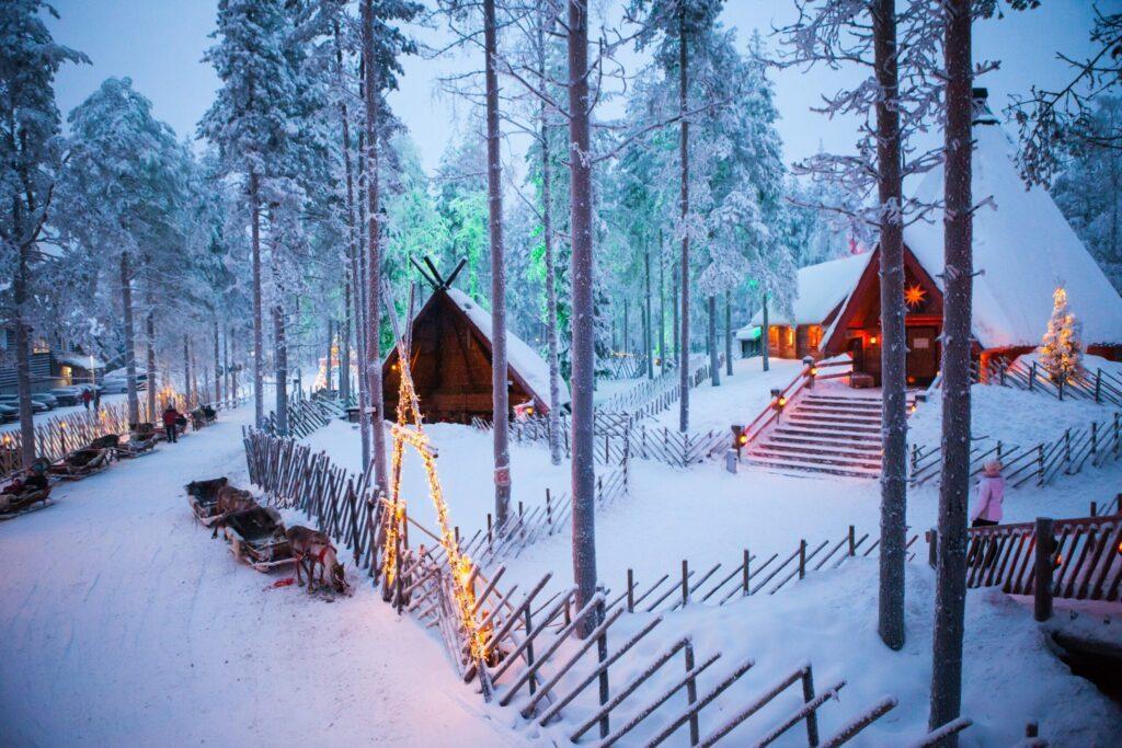 Le village du Père Noël à Rovaniemi