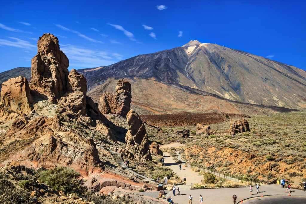 Le volcan Teide aux Canaries