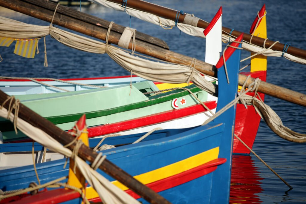 Les barques catalanes de Collioure