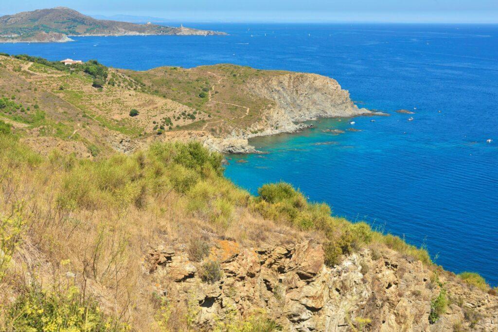 Les criques près de Collioure