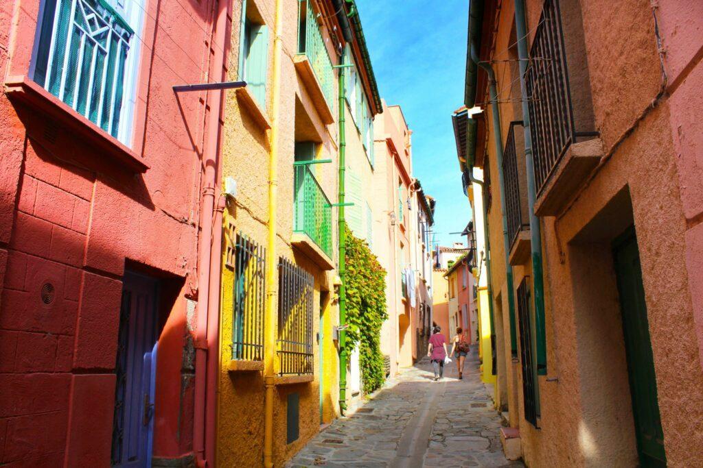 Les jolies ruelles de Collioure